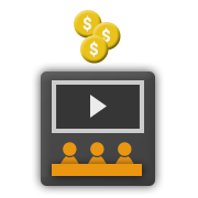 Create payment tiers to charge users for access to a video channel or course, depending on the subscription duration